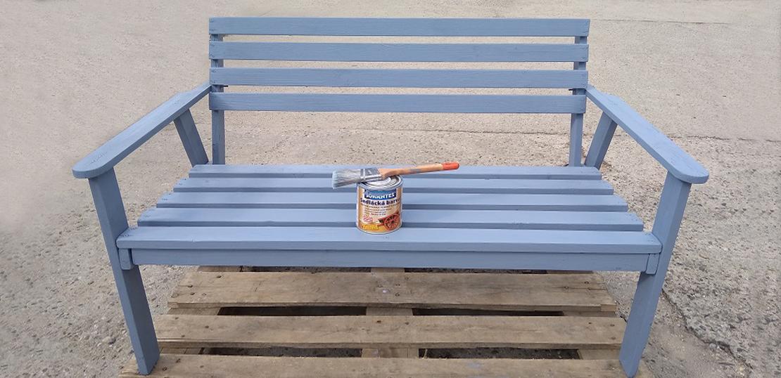 Zahradní nábytek -lavička - Hodonín